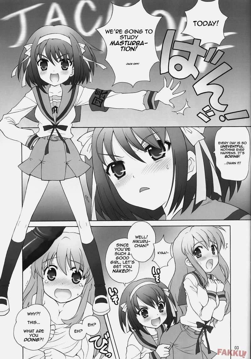 Daikenkyuu by You Nagisawa [The Melancholy of Haruhi Suzumiya] - Reading Chapter 1